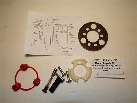Horn Chevrolet by 1958 59 60 64 Chevy Horn Contact Kit W