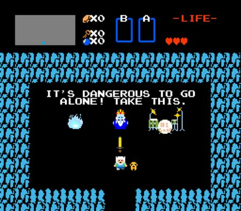 Its Dangerous To Go Alone Take This Know Your Meme