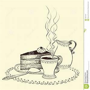 Kaffee Und Kuchen Bilder Kostenlos : ein tasse kaffee kuchen und milchkrug vektor abbildung illustration von vorz glich duft ~ Cokemachineaccidents.com Haus und Dekorationen