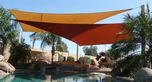 backyard shade sail cover your outdoor space with shade sails the garden glove