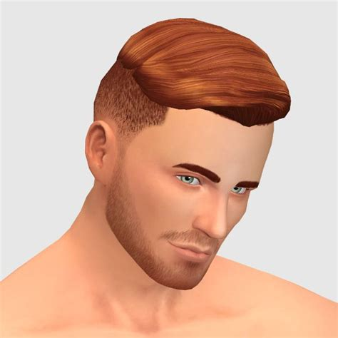 The Sophisticut Male Hairstyle Mens Hairstyles Sims