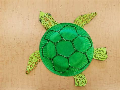 Paper Plate Sea Turtle Free Template Holidaysseasonal