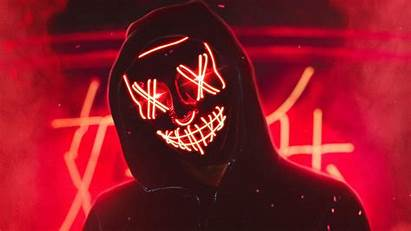 Wallpapers Purge Led Neon Mask