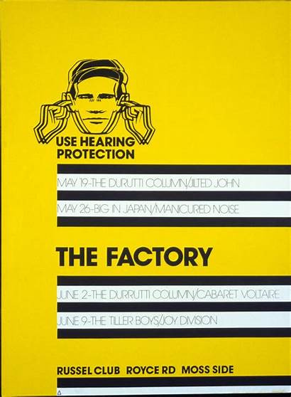 Factory Records Saville Peter Poster Order Record