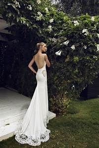 low back wedding dress is extremely sexy plus size With wedding dresses with back out