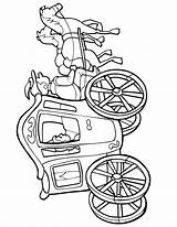 Wagon Covered Cliparts Coloring Pages Clipartmag sketch template