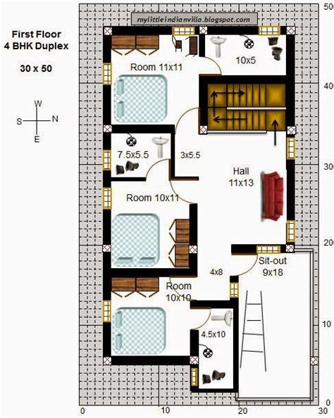 3 bedroom duplex floor my indian villa