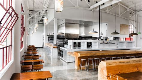Inside Radhaus, A Big New Beer Hall At Fort Mason From