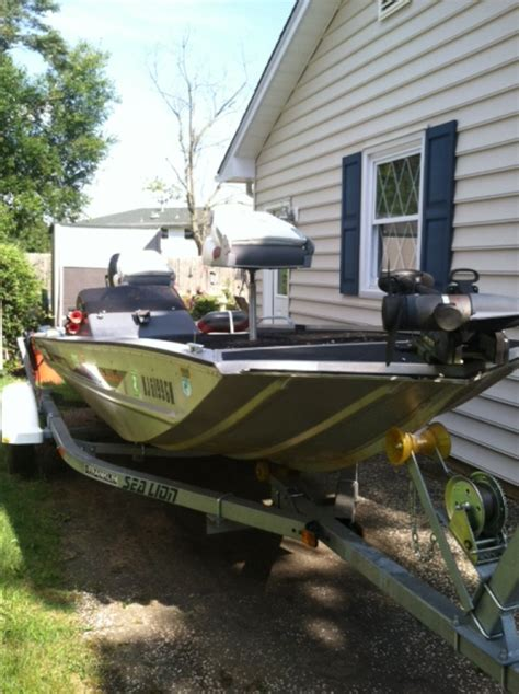 Used Bass Tracker Boats For Sale In Nj by 1988 Bass Tracker Tx175 New Jersey Vineland Nj 3500