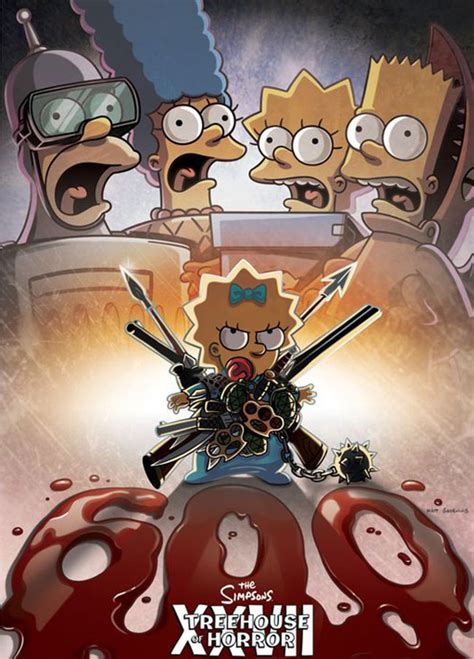 Simpsons Treehouse Of Horror Xxvii Poster And Plot