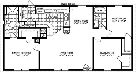 melhores ideias de modular home floor plans  pinterest plantas  rancho  plantas