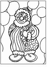 Coloring Pages Animated Clowns Clown Gifs sketch template