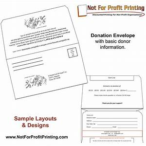 sample layouts designs for donation envelopes and With fundraising envelope template