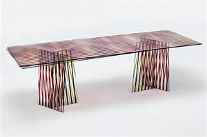 table en verre crossing par patricia urquiola blog With table en verre italienne