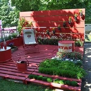 deco jardin terrasse pas cher With idee deco jardin terrasse 10 salle de bain 3 5m2