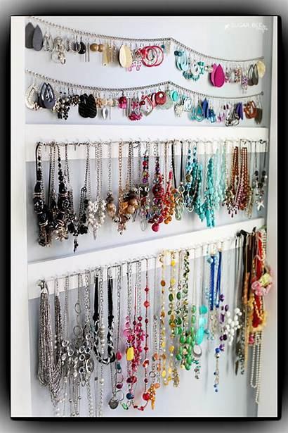 Organizer Jewelry Diy Earring Simple Storage Wall