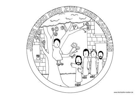 mandala jesus und der zoellner zachaeus anregungen