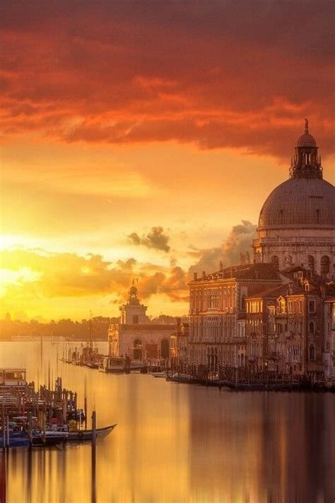 Canal Venice Beautiful Morning Wonderful Places