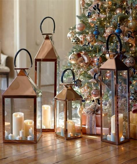 Modernes Haus Weihnachtlich Dekorieren by Laterne Weihnachtlich Dekorieren Kerzen Schlicht Modern