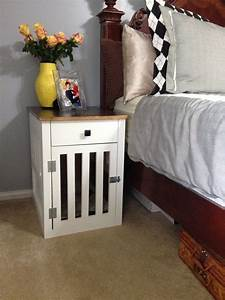 hometalk going to the dogs diy dog crate nightstands With dog crate in bedroom