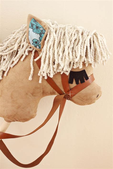 diy retro toy  stick horse kidsomania