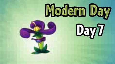 plants vs zombies modern plants vs zombies 2 modern day day 7 nightshade new costume