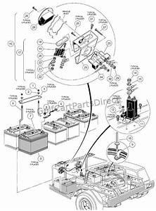 92 Gas Club Car Diagram