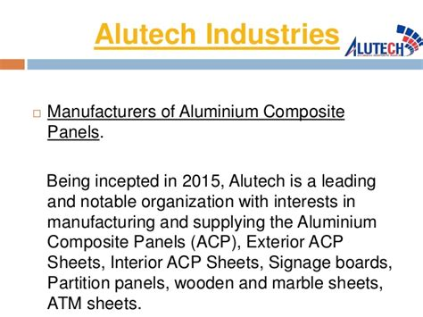 aluminium composite panel  delhi acp sheets manufacturer alutech