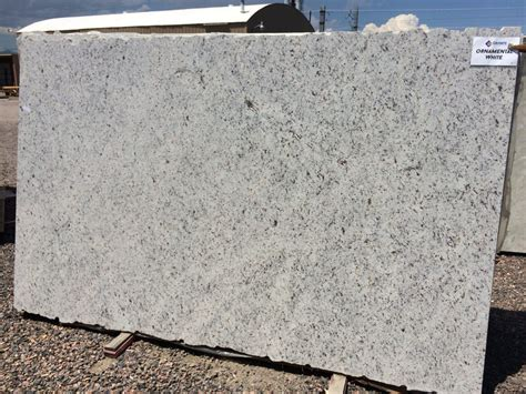 white ornamental granite countertops by granite