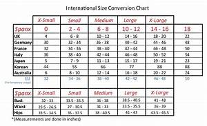 Bra Size Convertor And Bra Sizes Chart
