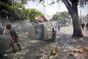 Haiti suspends fuel price hike after riot - Portland Press ...
