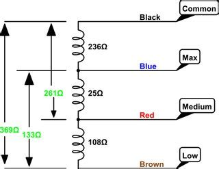 Electric Ac Wiring Diagram With Three Fan by Ac How To Wire 1 Phase 3 Speed Motor Electrical