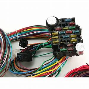 Universal 22 Circuit Wiring Harness Kit