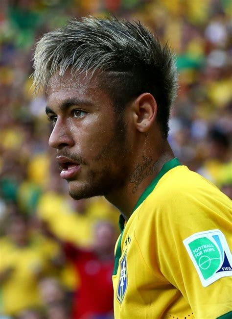 Men's Hairstyles: Neymar Jr Hairstyle World Cup Brazil