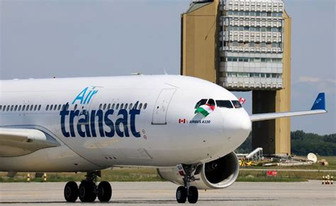 air transat arrives in budapest