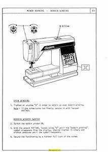 Elna 6000 Sewing Machine Service