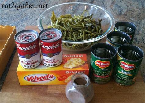 seestors famous green bean casserole vegtables