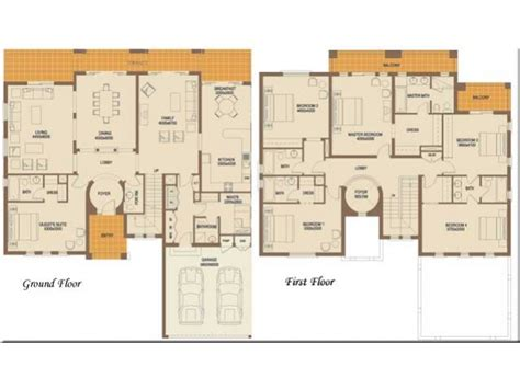 6 bedroom floor plans find house plans