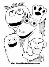 Puppet Coloring Puppets Master Colouring Wump Mucket Getdrawings Printable Getcolorings Colorings sketch template