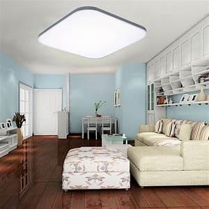 Wohnzimmer Deckenlampe : led deckenleuchte deckenlampe wohnzimmer badleuchte ~ Pilothousefishingboats.com Haus und Dekorationen