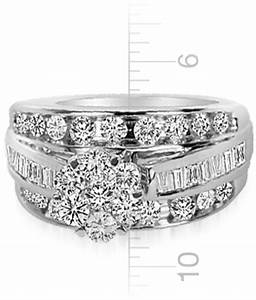 plus size wedding ring sets tidbits my trio rings With plus size wedding rings