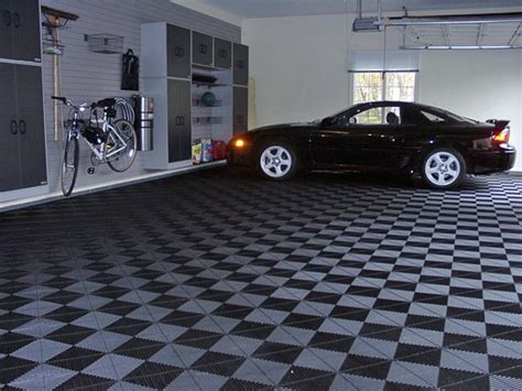 garage flooring tile designs ideas design trends