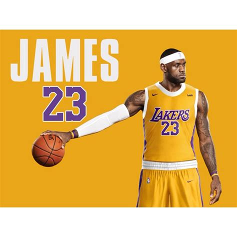 Tri-Seven Entertainment - LeBron James LA Lakers Poster ...