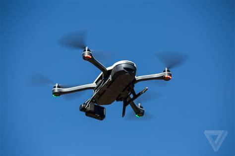 gopro karma drones fall    sky  verge