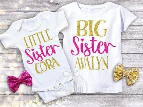 sister big sister shirt pack squishy cheeks