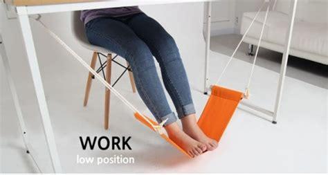 repose pieds bureau fuut hamac pour reposer vos pieds au bureau
