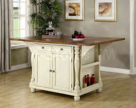 Small Kitchen Islands For Sale Kitchen Island Table In Two Tone Coaster Co Dining Tables Coa 102271 7
