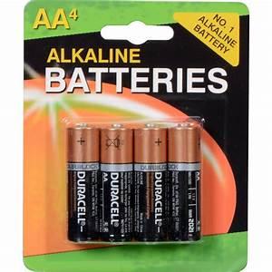 Batterie 1 5v Aa : duracell 1 5v aa coppertop alkaline batteries 4 pack mn1500b4 ~ Markanthonyermac.com Haus und Dekorationen