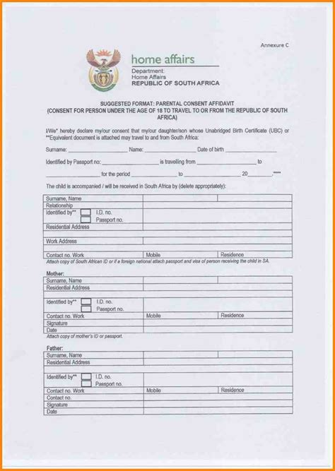 8 sa passport application form agile resume