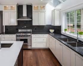 black and white kitchen backsplash 17 best images about kitchen backsplash countertops on backsplash tile